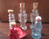 5 Vintage Avon Perfume Bottles