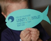 Fish Invitation - PRINTABLE