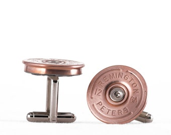 Cufflinks - Remington 12 Gauge Shotgun Shells