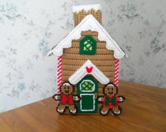 GINGERBREAD HOUSE Tissue Box Cover