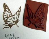 Butterfly fairy.. Cling mounted rubber stamp
