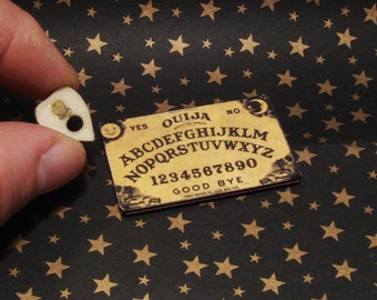Miniature Ouija Board with Glow in the Dark Planchette-In Stock