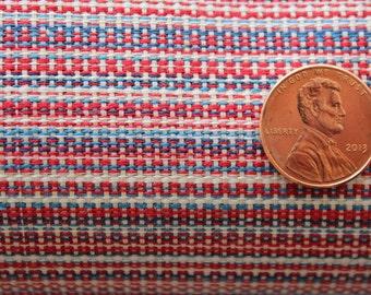 Vintage Fabric multi color weave