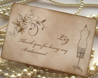 Wedding cards, Bridesmaid Thank You Card, Gold Glitter Wedding, Wedding Thank you, Bridesmaid Gifts, Gold Bridesmaid Card, Set of 3