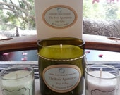 Lake Tahoe Balsam Cedar Scented Candle in Repurposed Wine Bottle (The Paris Apartment Collection)