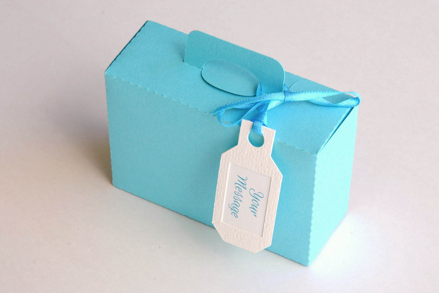 25 Out Of The Box Ideas For Your Destination Wedding: Set Of 10 Mini Mini 1 Suitcase Boxes / Luggage Boxes