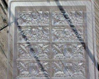 Tray-Thistle And Buttercup Soap Mold
