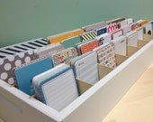 Ultimate Journaling Card organizer for project life, picture my life type cards holds 5000 cards