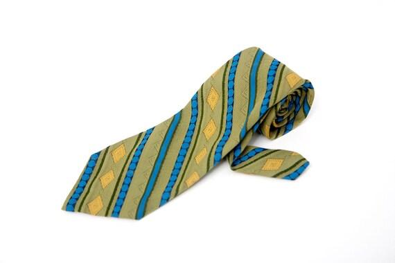 Men's Necktie / Vintage Superba Striped Tie