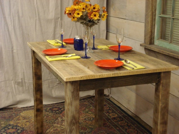 Counter Height Dining room Table Farmhouse 48 x