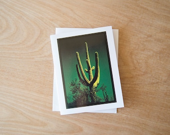 Saguaro National Park- 4.25x5.5 Greeting Card