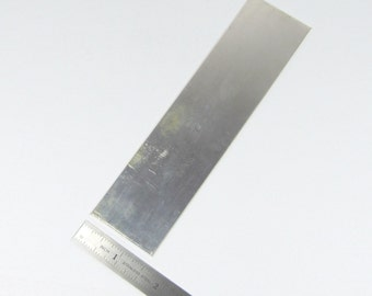 26 gauge Sterling Silver Sheet 1.5 x 6 inches - Nice to work with