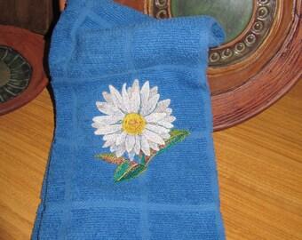 Watercolor Daisy -