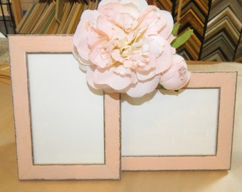 A Pretty Pair of Pink Picture Frames - 4 x 6""