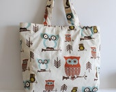 Everyday Tote - Cute Owl