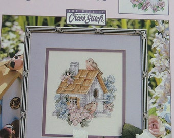 Cozy Re-Tweets Cross Stitch Pattern Book by Leisure Arts