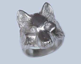 Wolf Totem Ring