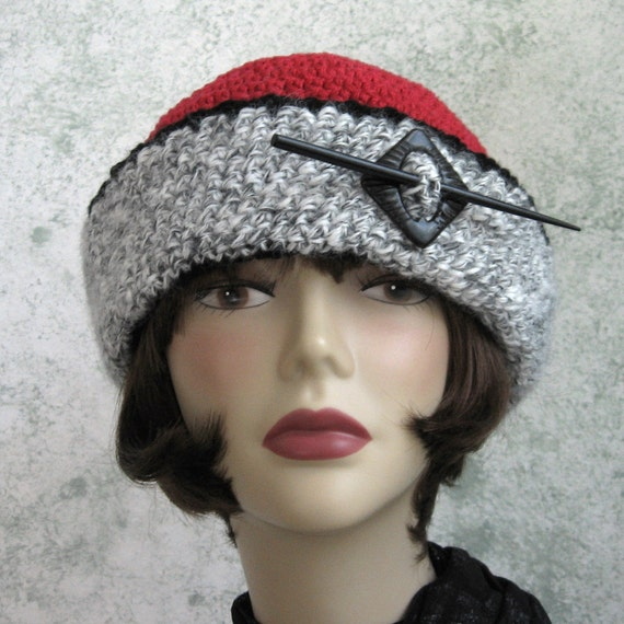 Womens Victorian Style Crochet Hat Pattern With Large Brim Instant ...