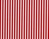 Clown Stripe in Red---1 yard---Michael Miller Fabrics