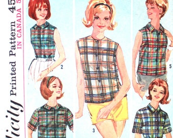 Basic Blouse A How to Sew Pattern Bust 31