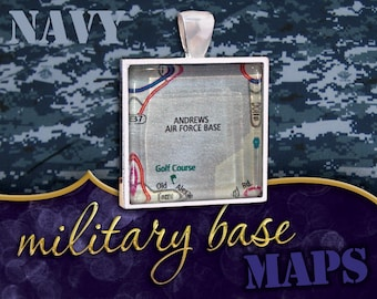 U.S. Navy / Air Force Pendant: Andrews Air Force Base