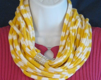 Infinity Noodle Necklace Scarf Cowl Fashion Statement Christmas Present Gift Birthday Valentines Mothers Day FREE GIFT