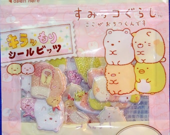 San-X Sumikkosurashi  Sponge Sticker Sack