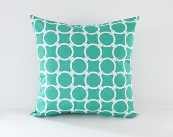 Turquoise Pillow Cover Decorative Pillows Throw Pillows Jade Pillow All Sizes