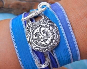Festival Jewelry, Festival Bracelet, Festival Wrap Bracelet, Earthy Jewelry, Earthy Boho Bracelet, Earthy Wrap Bracelet, Music Festival Wrap