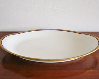 Vintage porcelain platter, Limoges France