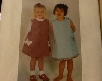 Girl Dress Pattern size 1-4