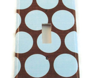 Switchplate  Light Switch Cover  Switch Plate in  Cocoa Blue   (172S)