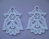 Lace Applique Flowers for Lace Jewelry