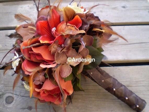 AUTUMN DAWN Wedding Bouquet