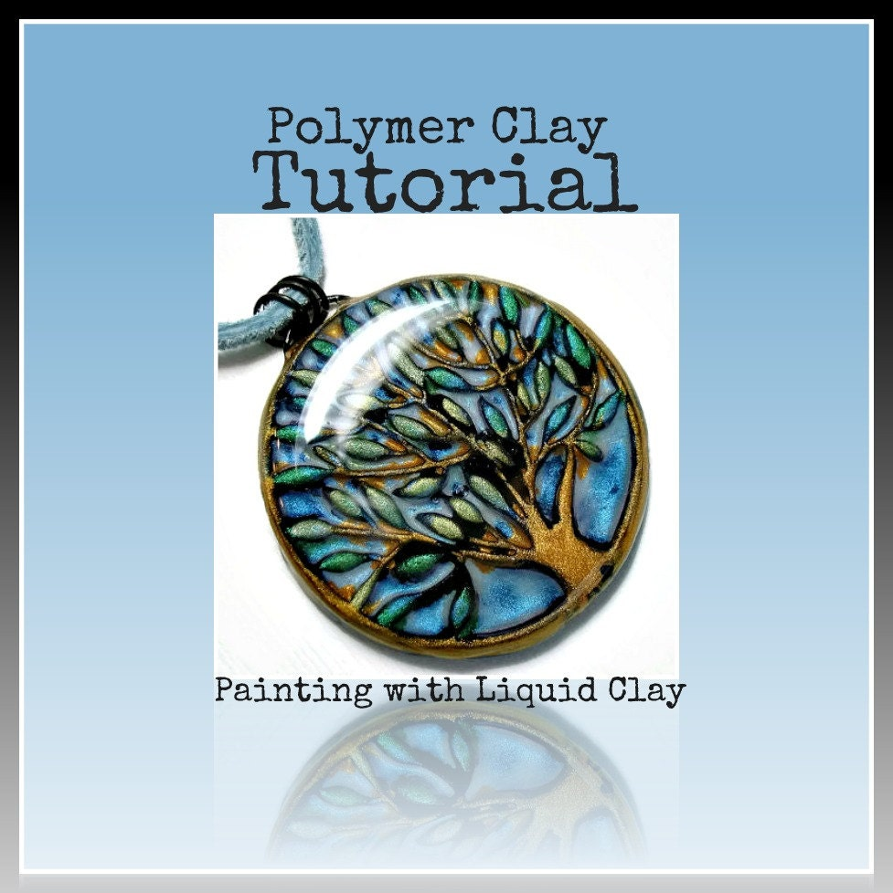 Polymer clay tutorial jewelry tutorial how to paint with for Clay mural tutorial