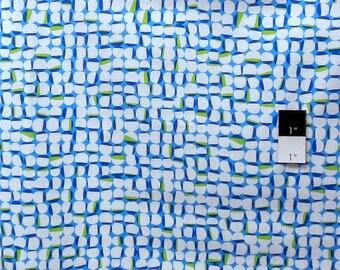 Erin McMorris PWEM044 Moxie Widgets Sky Cotton Fabric 1 Yard