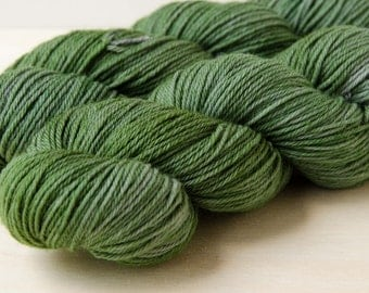 Hand Dyed Sock Yarn - Superwash Merino Wool & Nylon - Fingering Weight - Dance - Foxtrot
