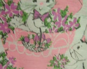 two adorable easter paper table covers