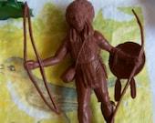 vintage plastic toy figurines