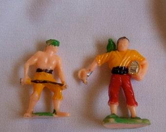 plastic men cake toppers