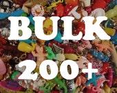 BULK Grab Bag of charms, beads, trinkets, nic-nacs, doodads (qty 200) wholesale