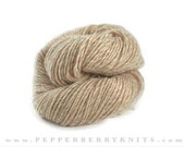 CASHMERE yarn signature collection   hand plied  color Barn Owl neutral