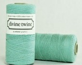Solid Teal Divine Bakers Twine - 240 yards (720 feet) - Divine Twine