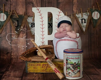Custom Crochet Baby Baseball Hat