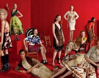 RARE  Elsa Schiaparelli  Straw Hat 2 Tone Brown and Cream as seen in Gala Vogue Magazine 2012