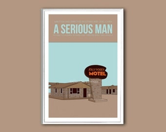 Movie poster A Serious Man 12x18 inches movie print