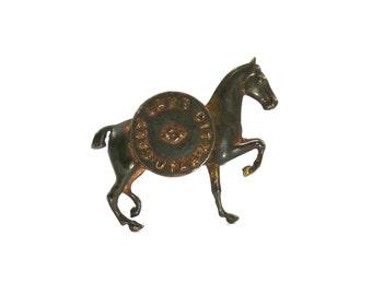 1880s Horse Pin Salt Lake City Utah Tourist Souvenir