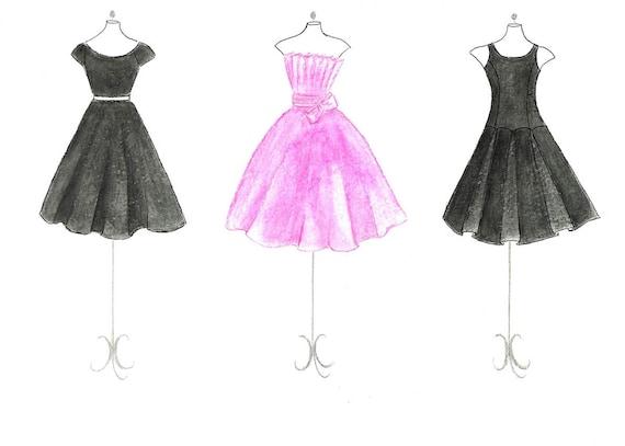 New amp Vintage Womens Dresses  Retro Evening Printed
