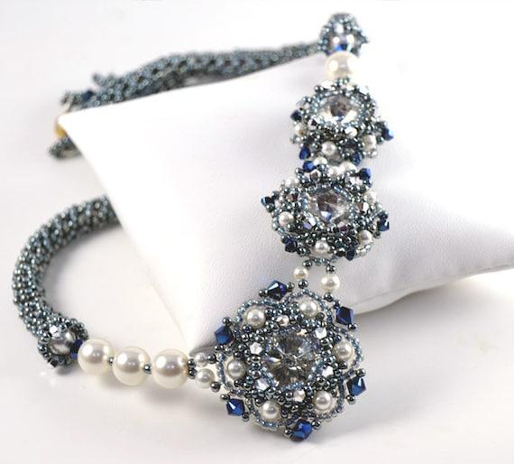 hnliche artikel wie wish upon a star necklace pattern auf. Black Bedroom Furniture Sets. Home Design Ideas