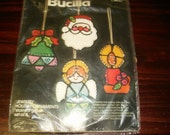 Felt Kit Bucilla Felt Ornament Kit Stained Glass Jeweled Holiday Ornaments Complete and Ready to Make